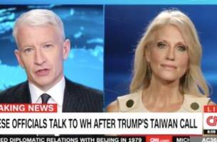 'This Is Uncharted Waters': Cooper Presses Kellyanne Conway on Taiwan Call