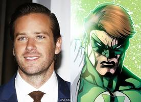 did geoff johns just confirm that armie hammer would play green lantern in dc movies?
