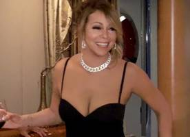 mariah carey can't wear her shoes alone in new promo for 'mariah's world'