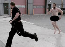 Naked Jai Courtney Chased 'Suicide Squad' Director Around on Set. See the NSFW Photo!