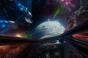 reminder: you can play battlefront's cool x-wing vr mission next week