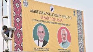 6th Heart of Asia ministerial conference, on peace & development in Afghanistan, begins today at Amritsar