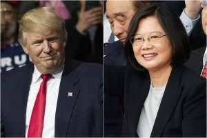 Trump speaks with Taiwan President in break with U.S. policy
