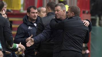 Rodgers backs 'exemplary' staff after criticism