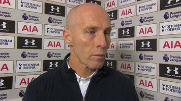 tottenham 5-0 swansea: bob bradley says penalty decision 'changed the game'