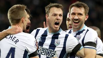 west brom beat watford to move up to seventh