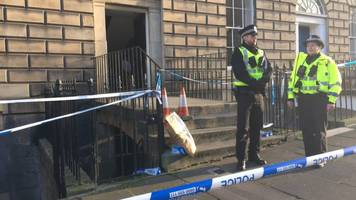 man arrested over death in edinburgh's scotland street