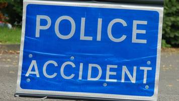 woman and child hurt in two-car crash on a73 in carluke