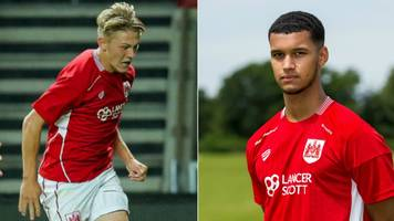 bristol city duo jake andrews and kodi lyons-foster join guernsey fc on loan