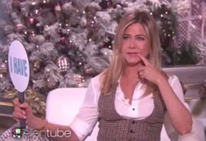Jennifer Aniston Admits To Sleeping With A Pilot, A Co-pilot and A Stewardess On The Ellen Show