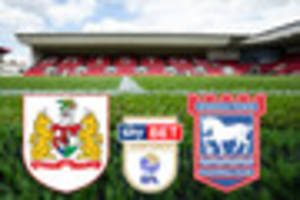 bristol city vs ipswich town live score and goal updates: team...