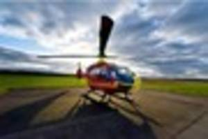 midlands air ambulance angels, based in tatenhill, staffordshire,...