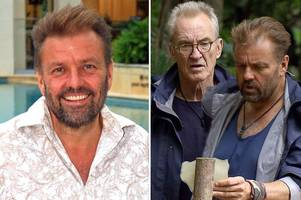 i'm a celeb's martin roberts reveals how 'bullying' larry lamb launched into a four-letter tirade at him off camera