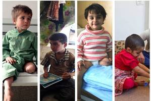 Children of war: maimed by terror and their fight for survival