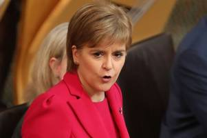 Nicola Sturgeon slams Scottish Tories for abandoning Europe and trying to silence Scotland's voice over Brexit