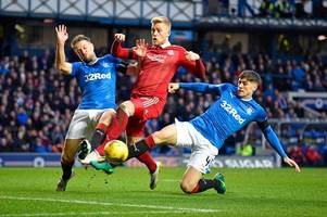 since aberdeen last won at ibrox 25 years ago - how the world has changed during the 43 game winless run