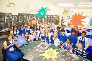 west lothian pupils have been getting creative thanks to the national galleries of scotland