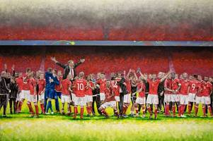 how a wales footballer used art to get over the blues of leaving euro 2016