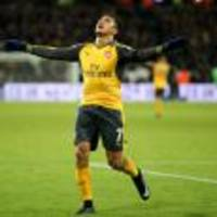 Arsenal boss Arsene Wenger hails Alexis Sanchez's 'killer instinct'