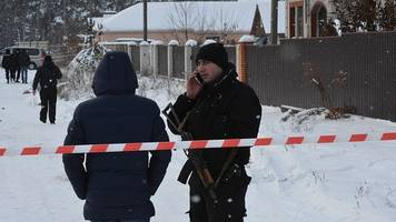 Ukraine: Five police killed in friendly-fire shoot-out