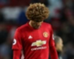 Angry Man Utd fans demand Fellaini leaves after penalty nightmare