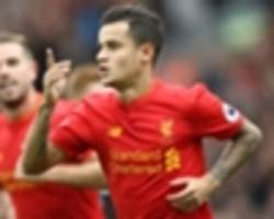 Lallana, Sturridge and Origi can cover Coutinho absence, says Houghton
