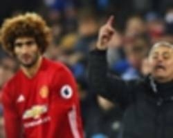 Mourinho's misery continues: Grenade sub Fellaini blows up in Man Utd's face