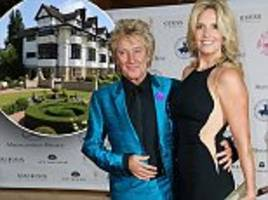 Rod Stewart's £7million home... do you think it's chintzy?