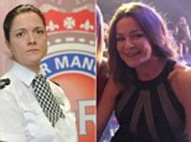 Senior police officer humiliated by her female boss's drunken rant about her 'boob job' was forced to quit her job even though her abuser kept hers