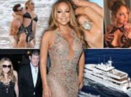 the mad world of mariah: as a new show bares all, a revealing a to z on the star's diva ways, including sleeping with 20 humidifiers, racy lingerie and why she's keeping her ex's £8m ring (despite a new toyboy)