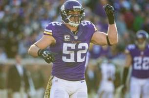 Chad Greenway: Minnesota Vikings 'embody coach Zimmer'