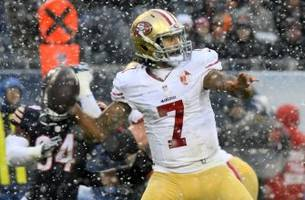 colin kaepernick was benched again in a meaningless game