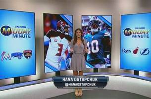 fox sports florida midday minute 'plus': fins, bucs continue playoff push, jags host defending champs