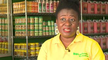 ghana's self-taught skincare entrepreneur
