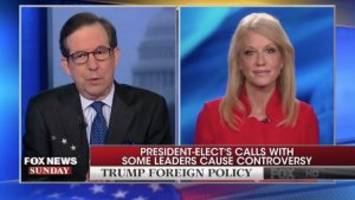 wallace asks conway: why is trump refusing intelligence briefings before talking to world leaders
