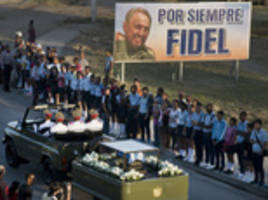 Fidel Castro's ashes interred at funeral in Santiago De Cuba's Santa Ifigenia cemetery