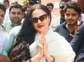 'they are too busy in their own world': sachin tendulkar, rekha, chiranjeevi, navjot singh sidhu top the list of lazy parliamentarians to miss the sessions