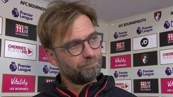 bournemouth 4-3 liverpool: klopp says reds 'gave match away'
