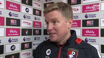 bournemouth 4-3 liverpool: we never gave up - eddie howe