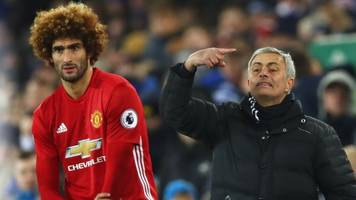 Man Utd boss Jose Mourinho defends Marouane Fellaini substitution after draw