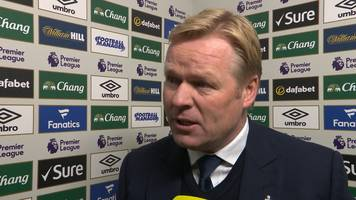 Everton 1-1 Manchester United: Ronald Koeman - Draw was fair result