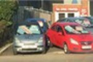 Great Rides' owner shocked as swastikas are sprayed on cars at...