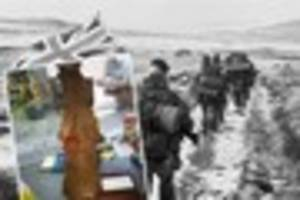mysterious missile casing from falklands war saved from the...