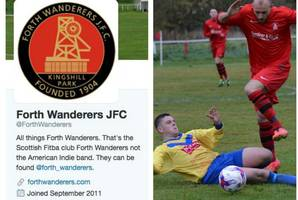 forth wanderers junior football team are star attraction in indie music circles as new jersey band nick their name