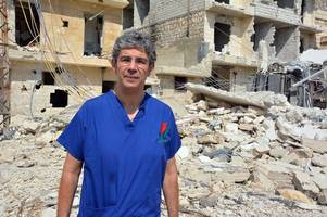 how a welsh surgeon reconstructed a bomb victim's shattered jaw in syria - using skype and a selfie-stick