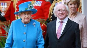 irish president higgins should learn from queen about airing political views