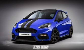 2018 Ford Fiesta Shelby GT350 Imagined as the Track Car We'll Never Get