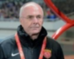 Former England boss Eriksson takes Chinese second-tier job