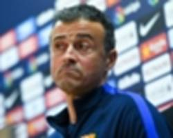luis enrique: i don't give a s**t about beating gladbach