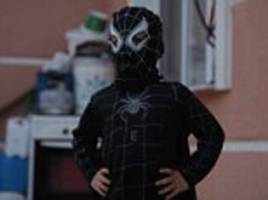Childhoods lost: From a Spiderman costume to a green badminton racket - what Syrian kids fleeing war take with them when given just an hour to pack